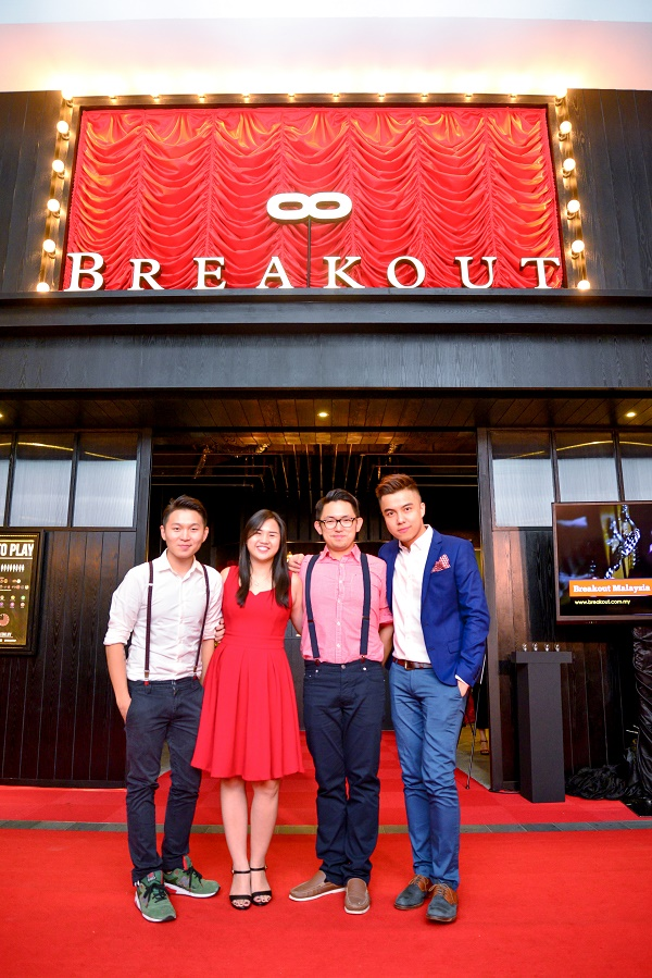 Breakout NU Sentral Grand Opening