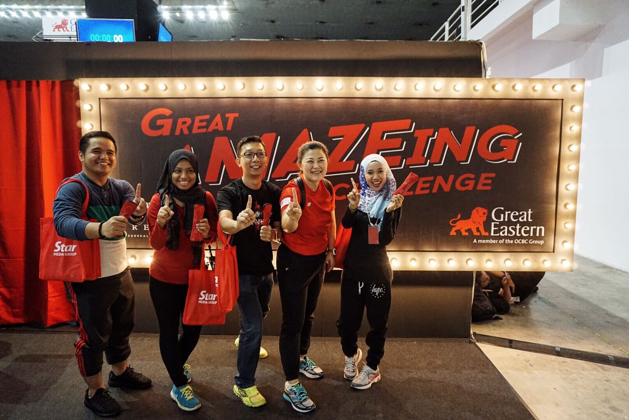 Great Amazeing Challenge - FitForLife Fair Penang 2016