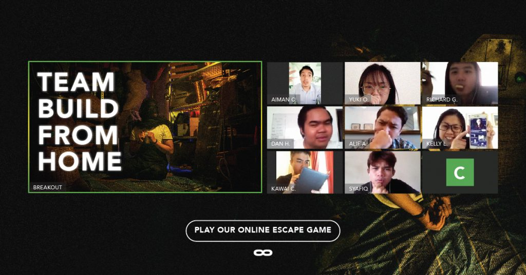 Breakout Virtual Team Building with escape game online