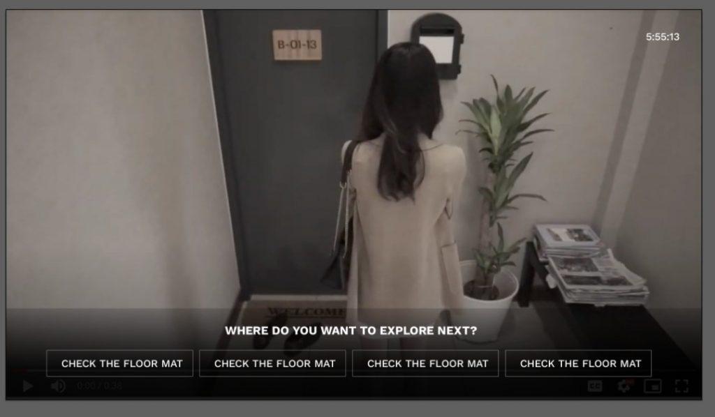 Pc screen to make a decision - linda virtual experience