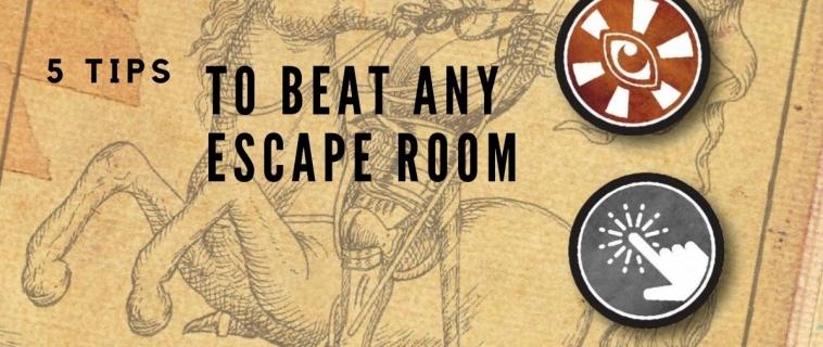 5 Tips to Beat Any Breakout / Novus Escape Room